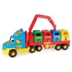 Super Truck – śmieciarka