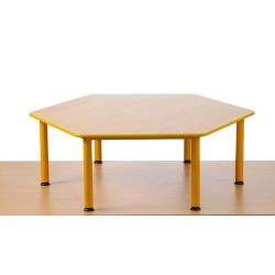 Stół Domino sześciokątny rozm. 3