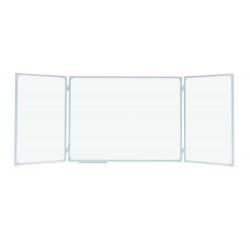 Tablica  szkolna tryptyk  biały 340 x 100