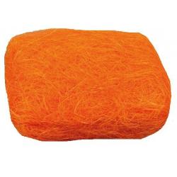 Sizal w motku  pomarańczowy