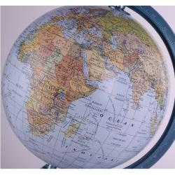 Globus polityczno -fizyczny podświetlany 32cm