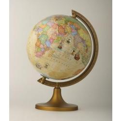 Globus z  trasami odkrywców  25 cm