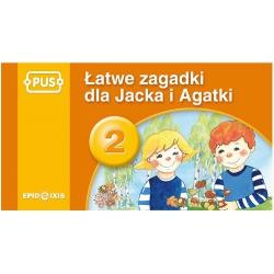 Łatwe zagadki Jacka i Agatki 2