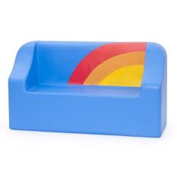 Błękitna kanapa