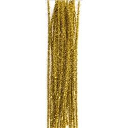 Druciki złote  25 szt