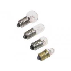 Żarówka miniaturowa 6 V 10 sztuk