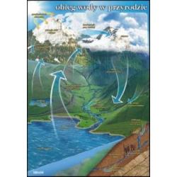 Plansza  Obieg wody w Przyrodzie