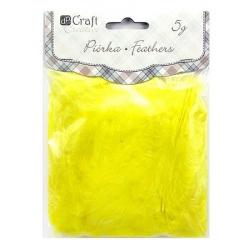 Piórka żółte