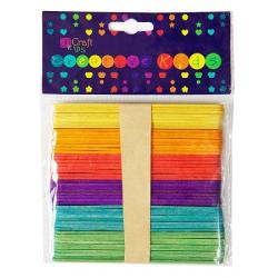 Patyczki kreatywne kolorowe
