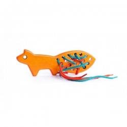 Przeszywanka pomarańczowy lis