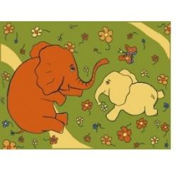 Dywan  Słonie  4 x 5 m