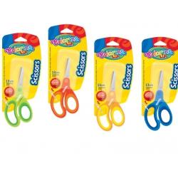 Nożyczki dziecięce z gumową rączką