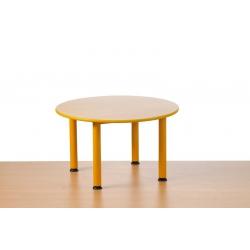 Stół Domino okrągły  regulowany  1-3
